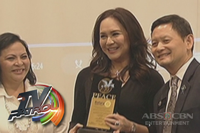 ABS-CBN Chief Content Officer Charo Santos-Concio, ginawaran ng Rotary Peace Award