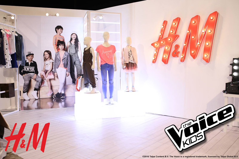 LOOK The Voice Kids as the young ambassadors of H M Kids 1