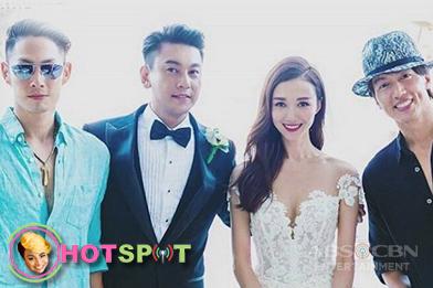 HOTSPOT: F4's Jerry Yan at Vaness Wu present sa kasal ni Ken Chu Image Thumbnail