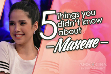 5 things you don't know about Maxene Magalona