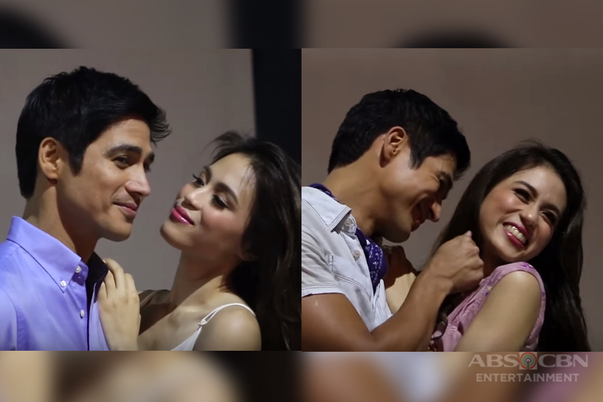 WATCH: Last Night Photo Shoot with Toni and Piolo