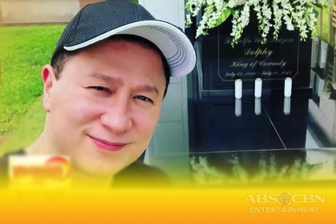 Eric Quizon, binisita ang bagong tahanan ng namayapang si comedy king Dolphy Image Thumbnail