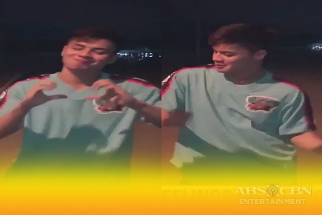 #InMyFeelings challenge ni Ronnie Alonte