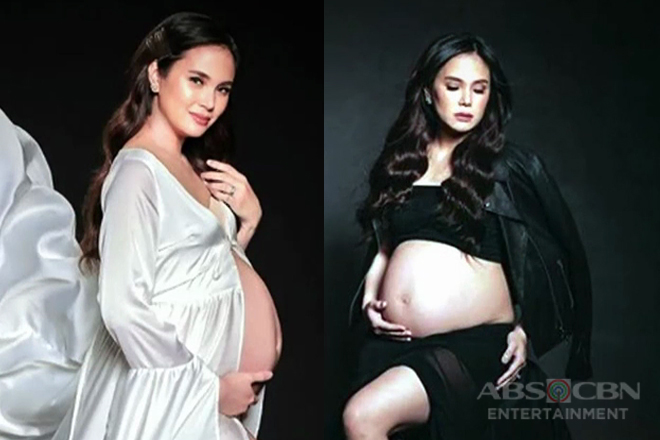 LOOK: Isabel Oli-Prats stuns in maternity shoot