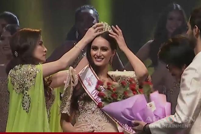 Sharifa Akeel ng Sultan Kudarat, kinoronahang mutya ng Pilipinas-Asia Pasific International