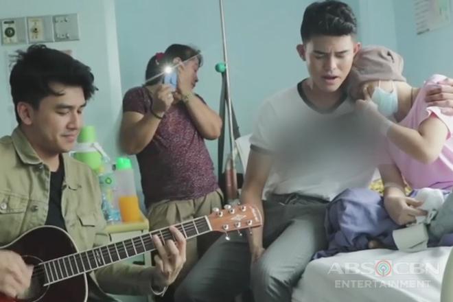 TV Patrol: Iñigo Pascual, hinarana ang 15-anyos na tagahanga na may Leukemia