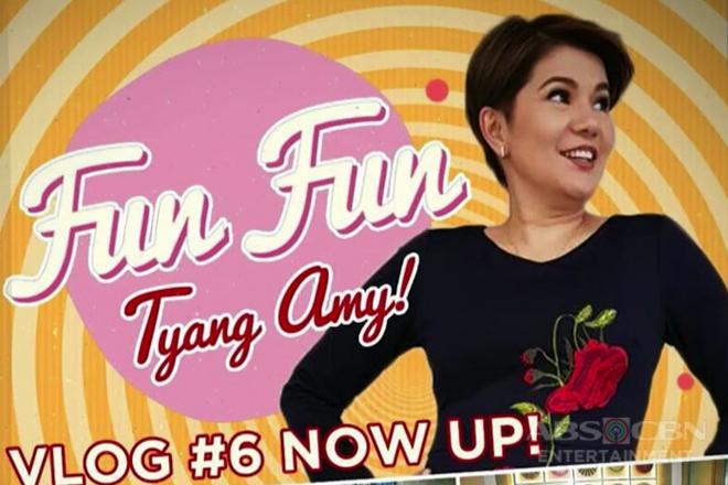 Tyang Amy, ibabahagi ang beauty routine sa kanyang vlog