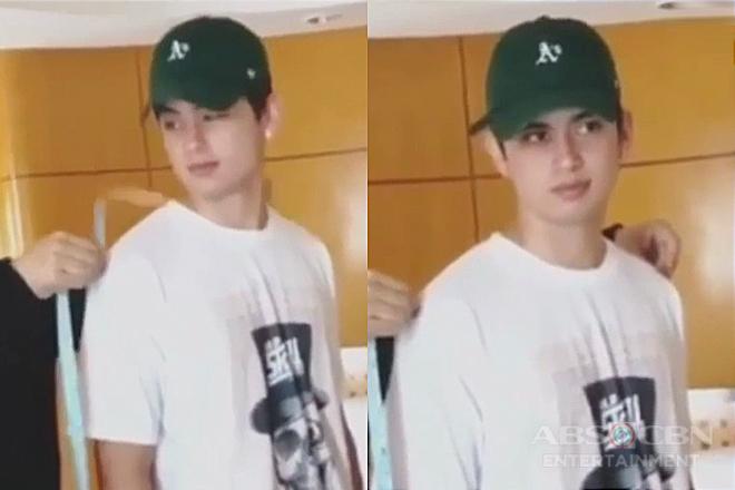 James Reid, ipinasilip ang paghahanda sa ABS-CBN Ball