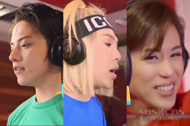 Daniel, Toni at Vice, sanib-pwersa sa music video ng MOR Philippines