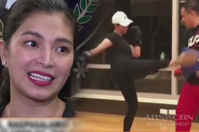 Angel, nagpasalamat sa tulong ng AFP sa cast at crew ng 'The General's Daughter'