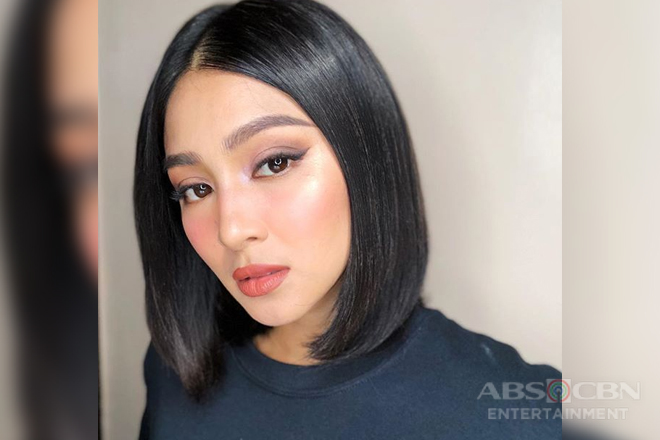 Nadine Lustre's new hairstyle