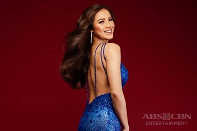 Michele Gumabao, pasok sa top 15 ng Miss Globe 2018