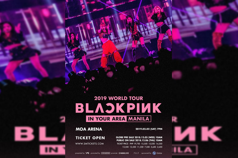 Get a chance to score first dibs on tickets to BLACKPINK Live in Manila 1
