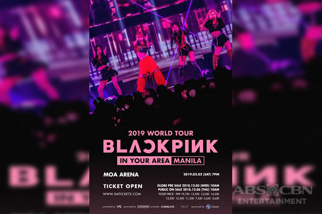 Get a chance to score first dibs on tickets to BLACKPINK Live in Manila