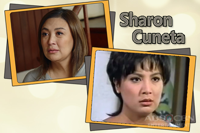 Sharon Cuneta: Then and Now