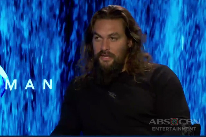 Jason Momoa, excited sa kultura at pagkaing Pinoy bago ang nalalapit na Asian premiere ng Aquaman