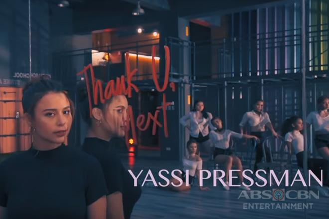Sweet yet sexy ang 'Thank U, Next' Dance Cover ni Yassi Pressman
