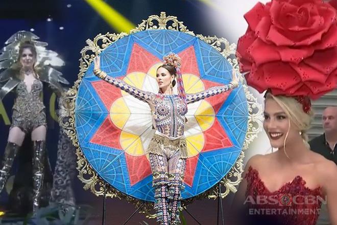Mga kandidata ng Miss Universe 2018, nagpatalbugan sa National Costume show