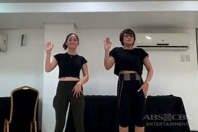 Barbie Imperial at Jane Oineza, sumabak sa switch it up challenge