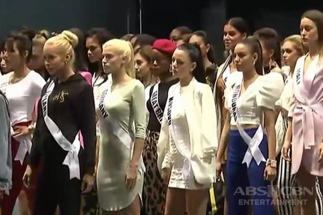 Mga kandidata ng Miss Universe 2018, sasabak sa interview ngayong araw