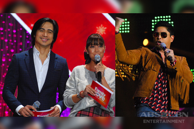 "Coco, Vice, Regine, and Kapamilya love teams lead ABS-CBN stars at the ""Family is Love: The 2018 Christmas concert"""