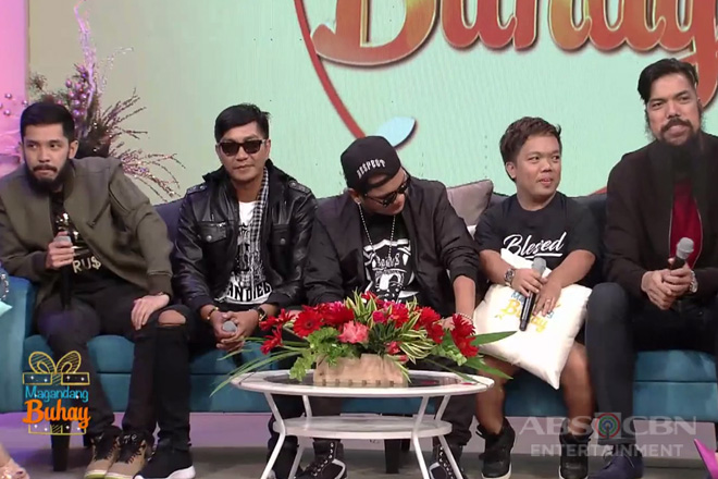 Magandang Buhay: Sancho, Smugglaz, Bassilyo, Hap Rice at Big Mac, malaki ang pasasalamat kay Coco at sa FPJ's Ang Probinsyano