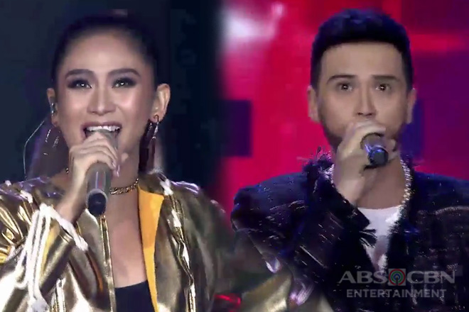 "Family Is Love: Sarah Geronimo sings ""Hark The Herald Angels Sing"" with  Billy Crawford"