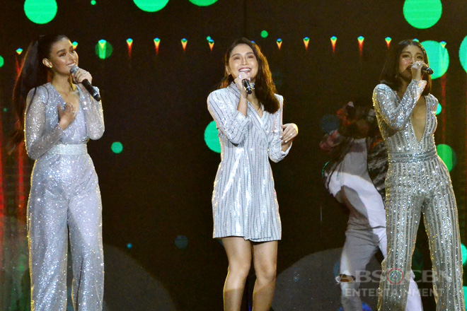 """Family Is Love: Kathryn, Liza & Nadine perform The Pointer Sisters' """"I'm So Excited"""""""