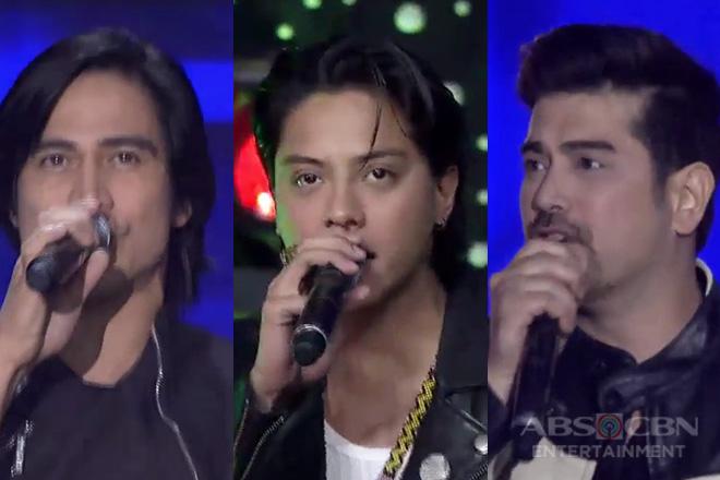 "Family Is Love: Piolo, Ian & Daniel sing ""We Will Rock You"""