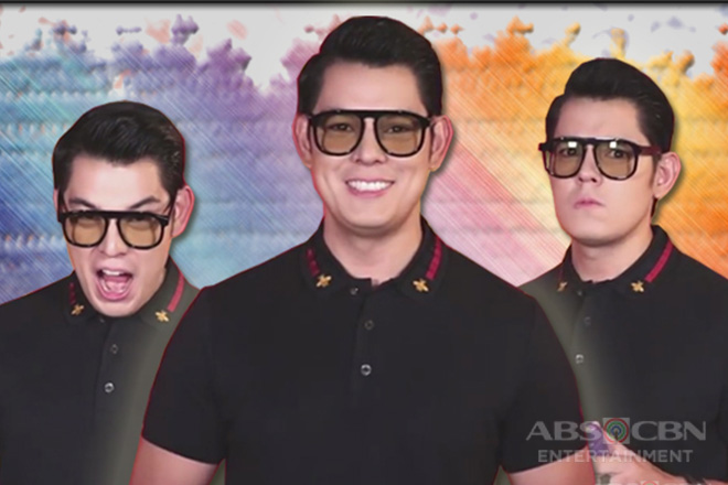 Richard Gutierrez plays the Color Game with a twist Image Thumbnail
