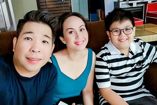 Meet the poging unico hijo of PBB Season 1 Big Winner Nene Tamayo and husband Anthony Plamio