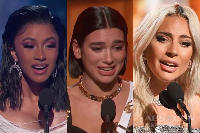 Lady Gaga, Dua Lipa at Cardi B, kabilang sa mga nagwagi sa 61st Grammy Awards.