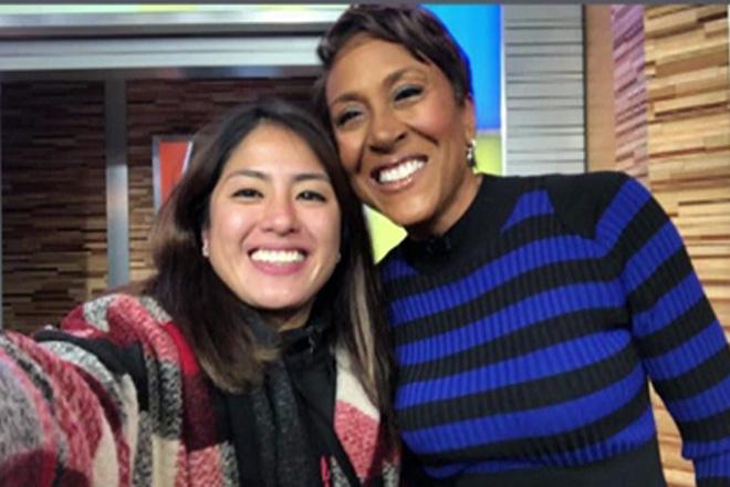 Gretchen Ho, nanood ng US morning show na  'Good Morning America'