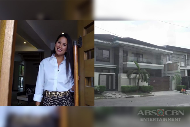 Andrea del Rosario shows her beautiful house on Rated K