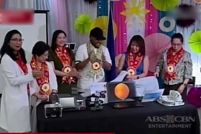 Apl.de.Ap, nag-donate ng equipment sa isang ospital para maiwasan ang pagkabulag sa ilang sanggol