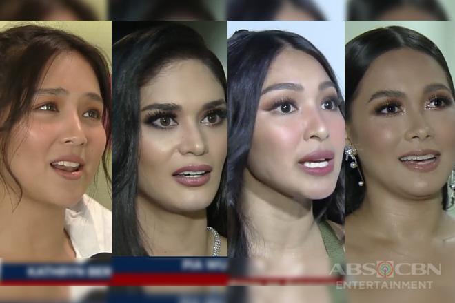 Nadine, Kathryn, Maja at Pia, sinagot kung handa ba silang lumipad bilang Darna
