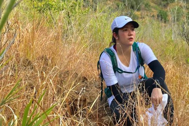 Angeline Quinto, first time na umakyat ng bundok
