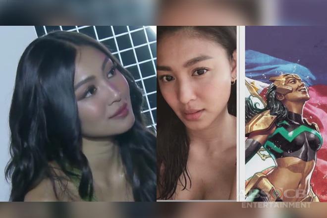 Bandila: Ikinatuwa ni Nadine ang pagkakapili sa kanya bilang inspirasyon sa Marvel's Pinay superhero Wave