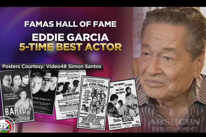 Eddie Garcia, nominadong Best Actor sa FAMAS kahit nasa Hall of Fame na
