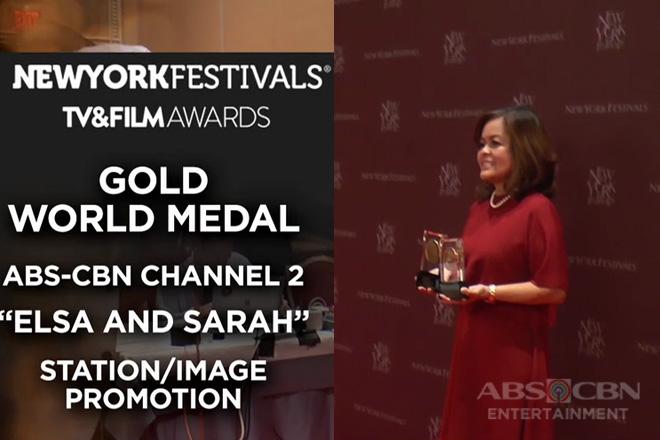 Ilang programa ng ABS-CBN, pinarangalan sa New York Film Festivals TV and Film Awards