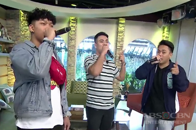 "Allmo$t sings ""Dalaga"" live on UKG!"