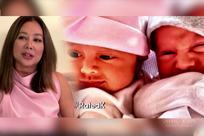 Rated K: Korina reveals the real names of her twins