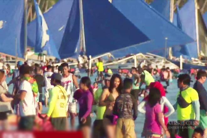 TV Patrol: Lokal at dayuhang turista, patuloy ang pagdagsa sa isla