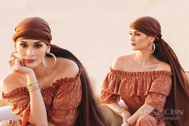 Pia Wurtzbach, nag-ala Princess Jasmine sa kanyang photos sa Dubai