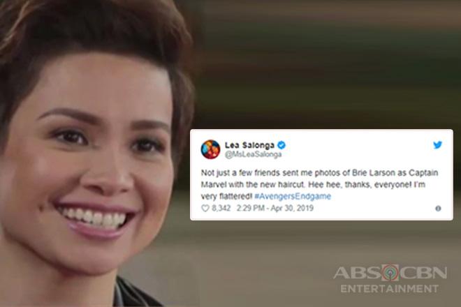 Lea Salonga, nag-react sa viral look-alike photo nila ni Captain Marvel Image Thumbnail