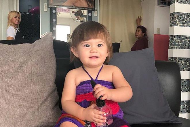 First haircut ni Baby Malia