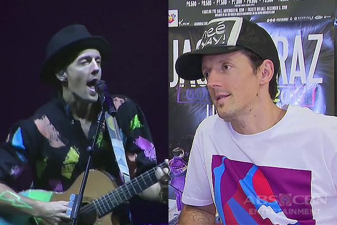 TV Patrol: Grammy winner Jason Mraz, hinarana ang pinoy fans sa kanyang 'Good Vibes Tour'
