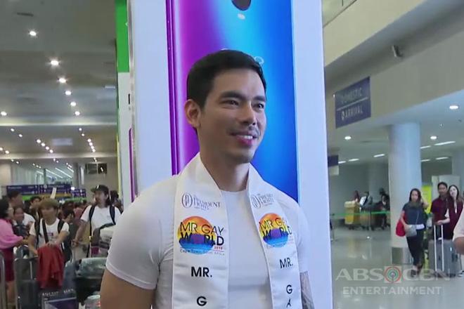 Pinoy, nagwagi sa Mr. Gay World 2019