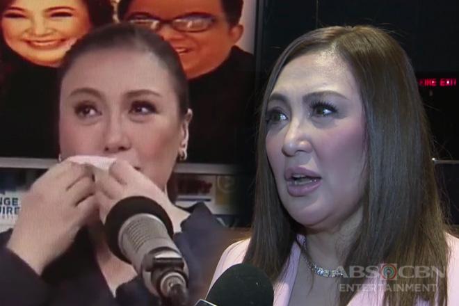 TV Patrol: Sharon Cuneta, napaiyak nang maalala ang mga namayapang magulang