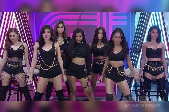 Bandila: Bagong bihis ang girl group ng It's showtime